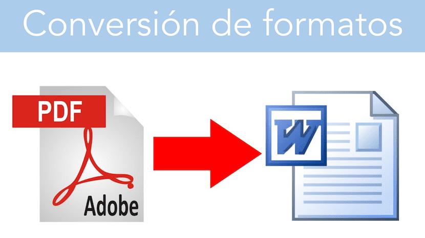 Convierte archivos PDF a otros formatos desde tu navegador
