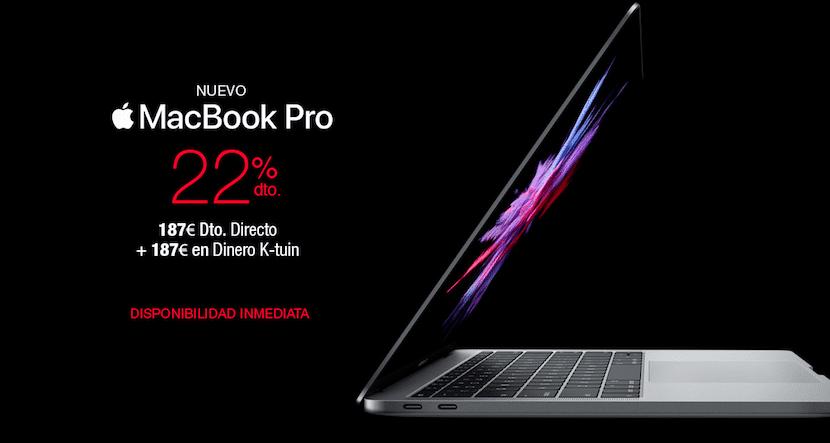 Aún puedes comprar tu nuevo Mac con un 22% de descuento