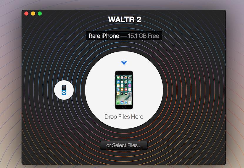 waltr-2-interfaz