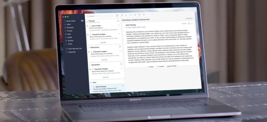 Spark, el cliente de correo para Mac ya está disponible