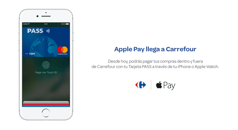 Carrefour y Apple Pay