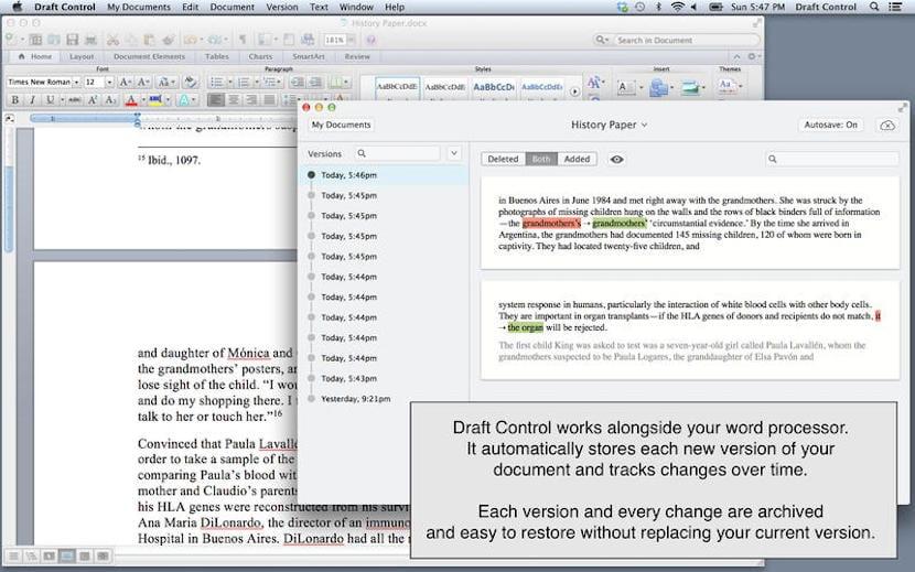 Draft Control para Mac, en oferta por tiempo limitado