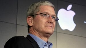 tim cook logo apple