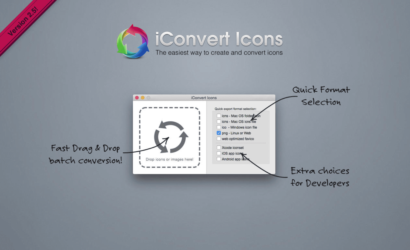 iConvert Icons Top