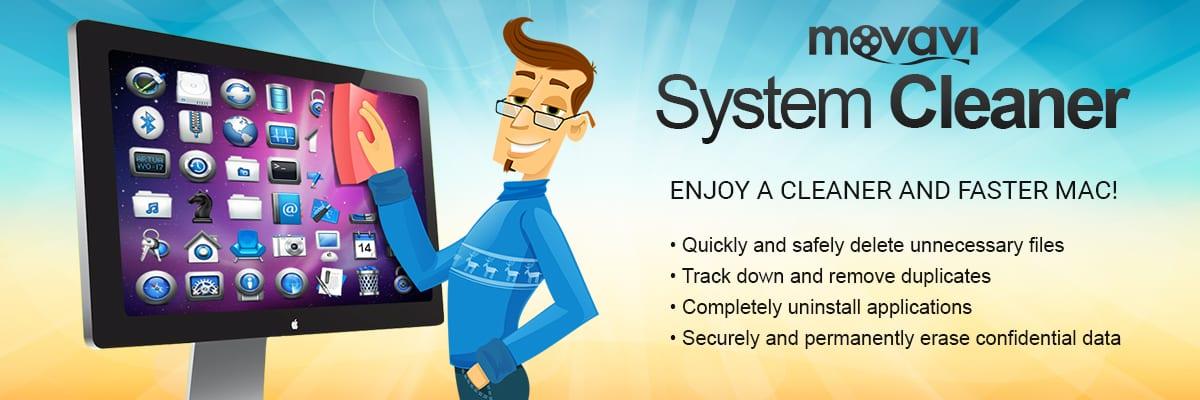 Pon a punto tu Mac con System Cleaner de Movavi, ahora a un precio irresistible