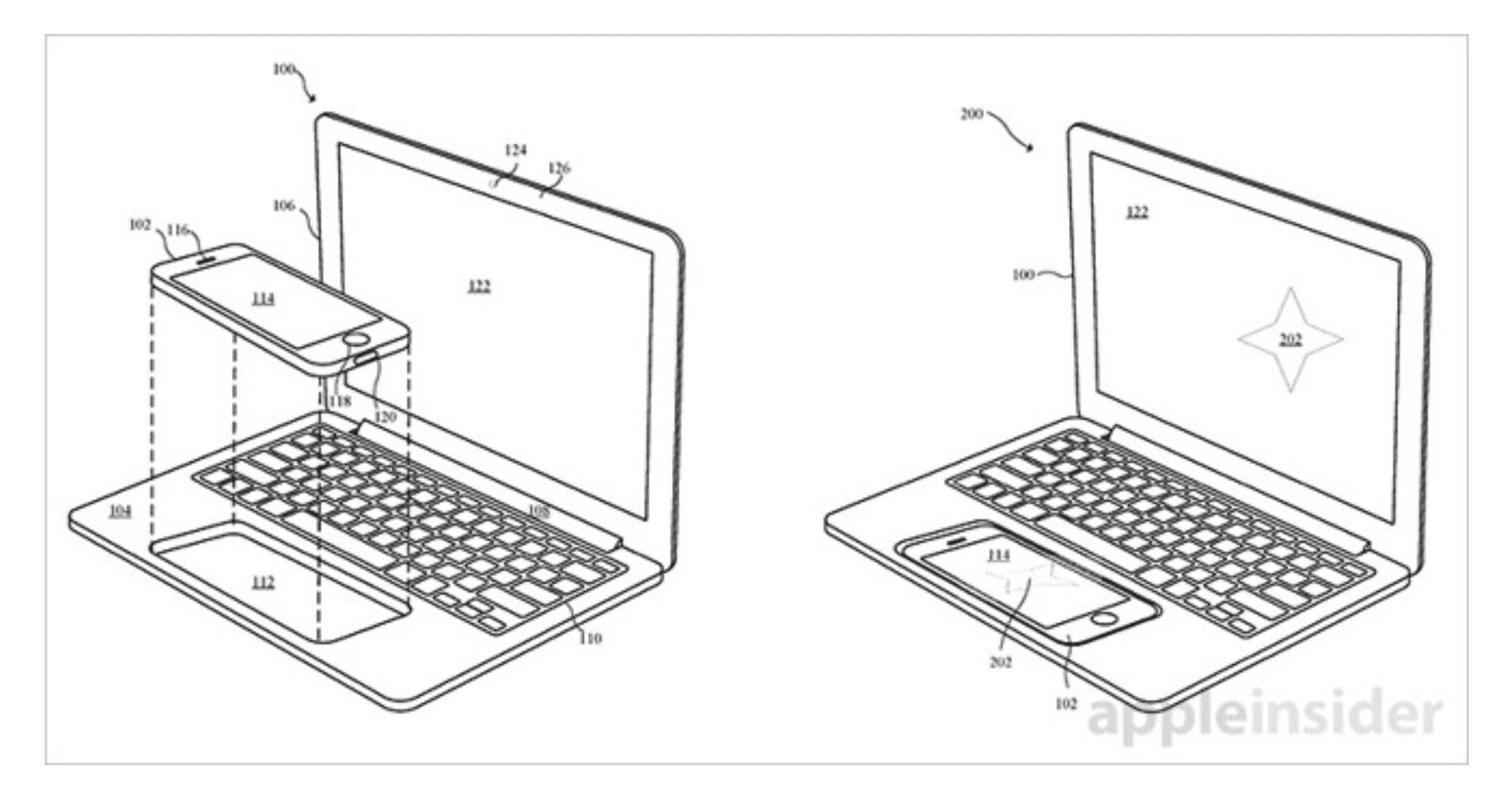 Patente iPhone TrackPad