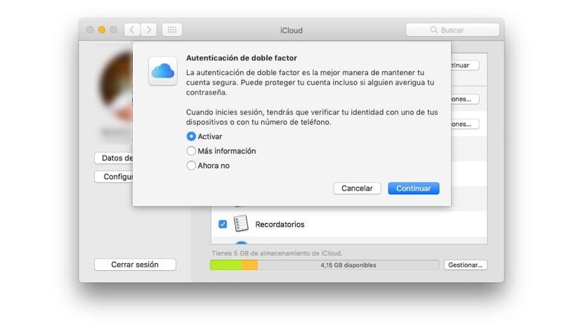 Autenticación de doble factor en Apple