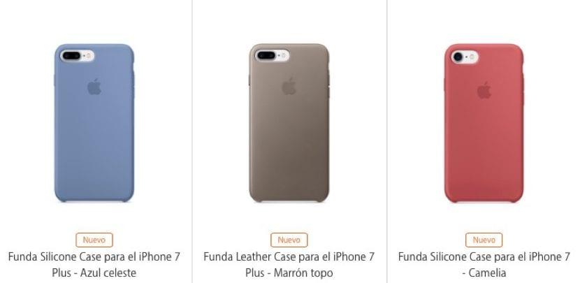 f6dcc99ecf6 Nuevas fundas de piel y silicona para el iPhone 7, 7 Plus y SE además de  correas para el Apple Watch