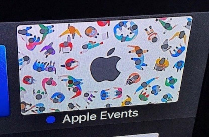 fa6319eda08 El Apple TV ya ha actualizado su aplicación Eventos para a la WWDC 2017