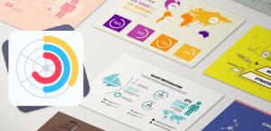 Plantillas de infografías para Mac