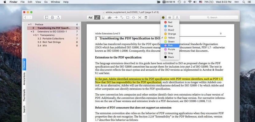 Añade notas, subraya, resulta texto y mucho más con PDF Reader Air