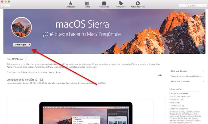 Descargar macOS