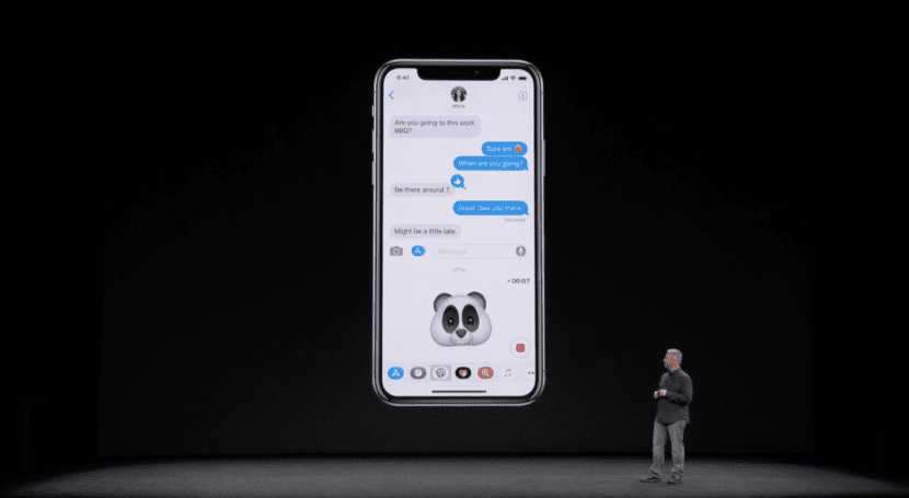 Animoji iMessage