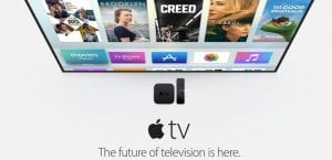Apple TV 4K conectado TV