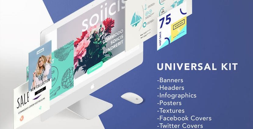 Crea banners, infografías y mucho más con GN Templates para Photoshop por apenas un euro