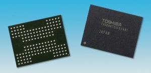 Toshiba vende división de memorias