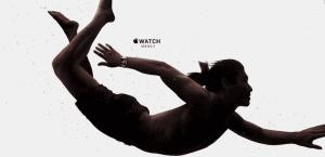 Apple Watch en el agua