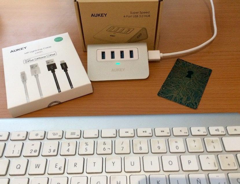Aukey CB-H5 - Hub USB 3.0