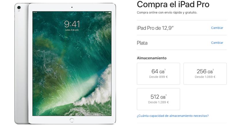 Apple sure los precios del iPad Pro