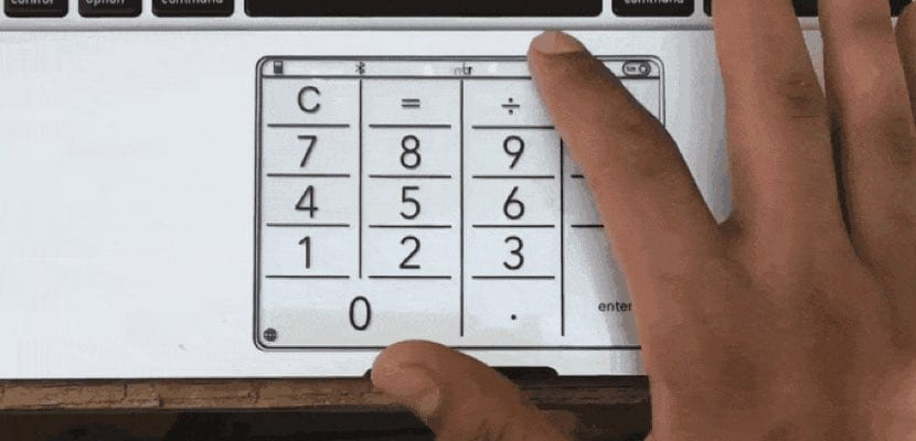 nmbr keypad macbook