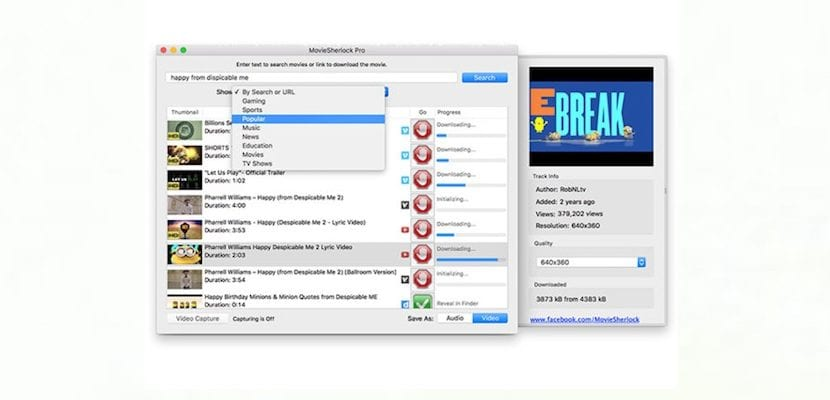 Con Movie Sherlock Pro puedes descargar y organizar todos tus vídeos