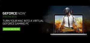 GeForce Now disponible beta para Mac