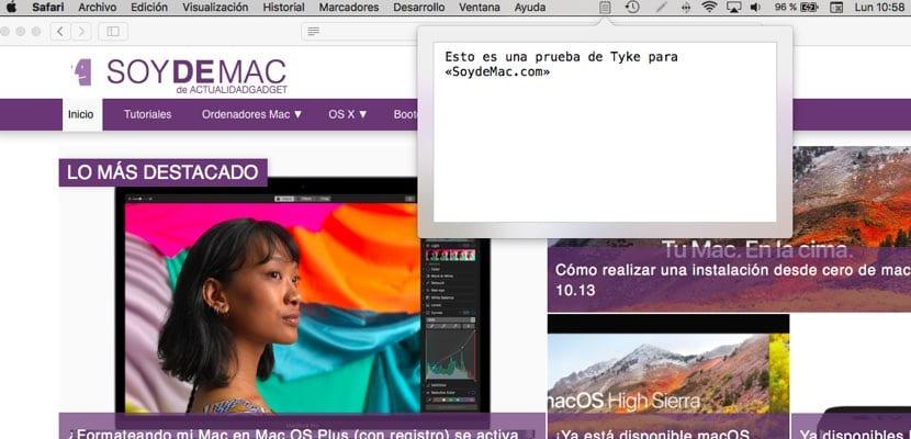 Tyke app notas para Mac gratis