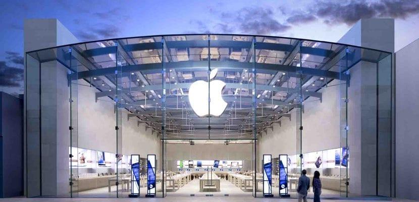 Apple Store principal punto venta Mac en EE.UU