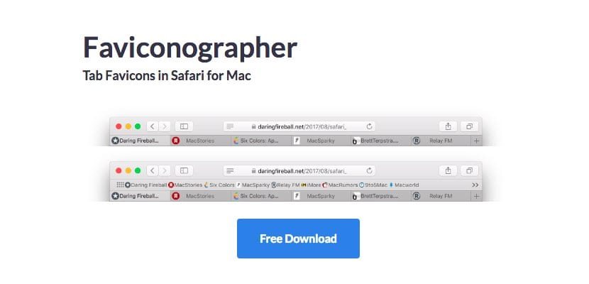 Faviconographer Safari para Mac