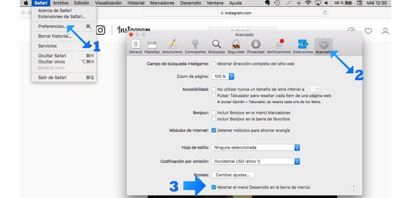 Pasos para usar Instagram en Mac