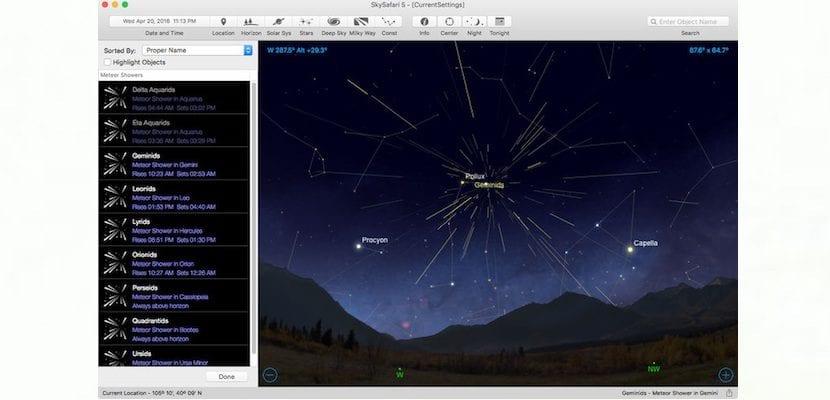 Descubre todos los secretos del firmamento con SkySafari para Mac