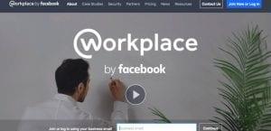 Workplace de Facebook versión escritorio