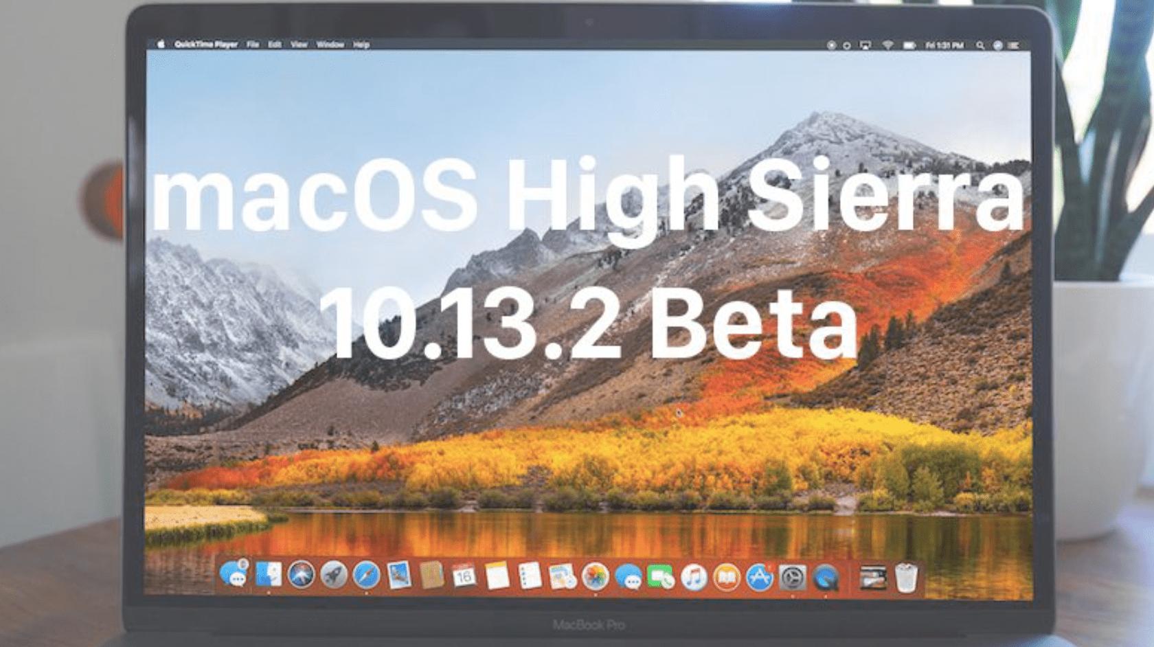 Beta 3 macOS High Sierra