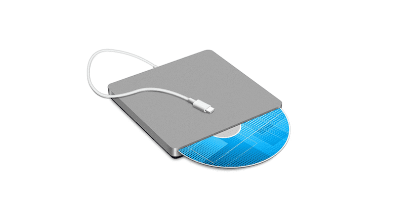 SuperDrive para MacBook con puerto USB-C
