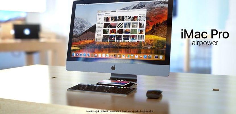 iMac Pro Airpower concepto