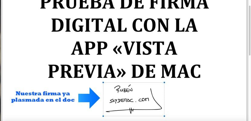 Resultado final con firma digital en doc vista previa Mac