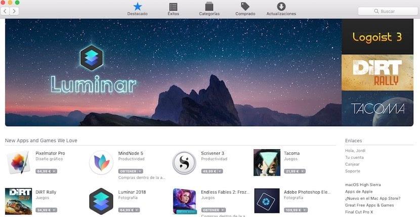 """Una prueba más que la Mac App Store no recibe el mismo """"cariño"""" que la App Store"""