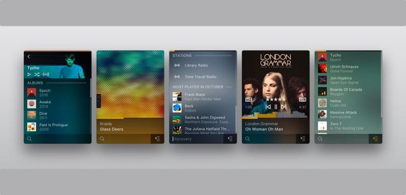 Plexamp reproductor música para macOS basado en Winamp