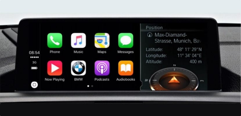 BMW CarPlay pago anual servicio