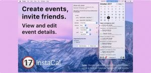 InstaCal para Mac Calendario