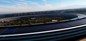 vídeo drone Apple Park 2018