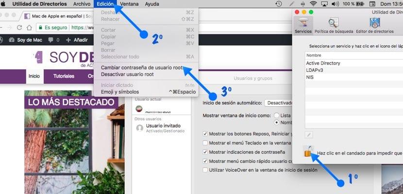 Cómo cambiar la contraseña del usuario root en macOS imagen2