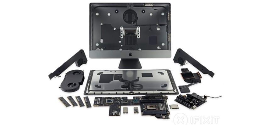 Conocemos el interior del iMac Pro, gracias al desmontaje realizado por iFixit