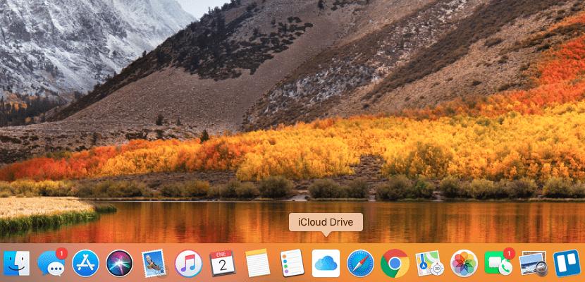 Como añadir iCloud Drive al Dock de nuestro Mac y acceder desde él.