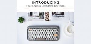 teclado Lofree para Mac Indiegogo