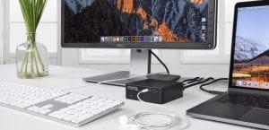 Plugable UD-CAM estación de carga USB-C