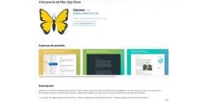 rediseño de la App Store web