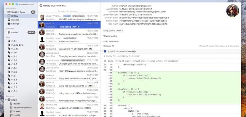 Conoce GitFinder un cliente de Git que se integra a la perfección en Finder