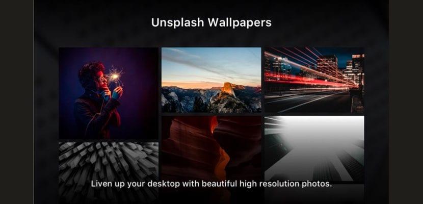 fondos de pantalla Unsplash para Mac