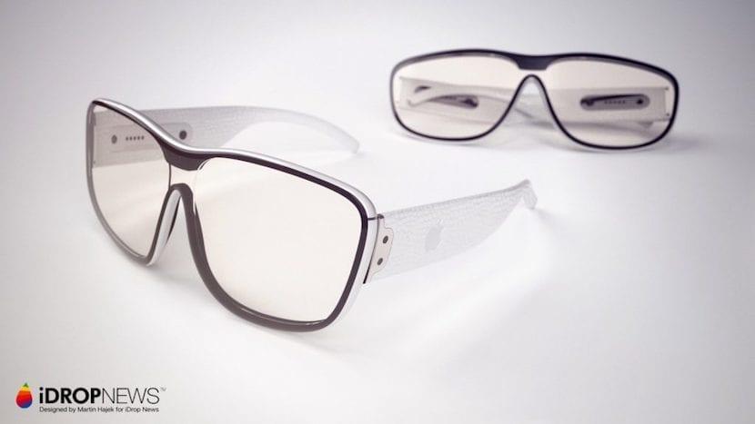 Concepto de las Apple Glasses